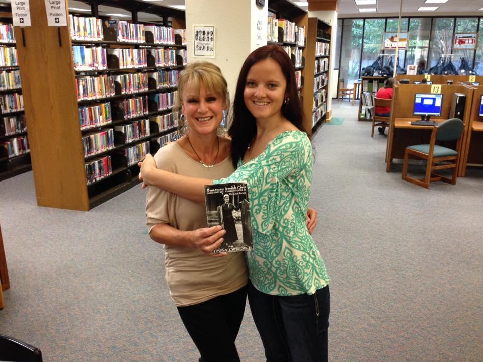 Amanda Thrasher and I. AKA: my English mother